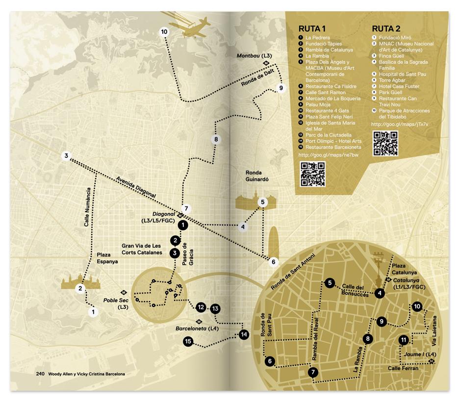 Mapa Cine en Barcelona