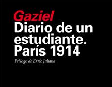 NOVEDAD: 'DIARIO DE UN ESTUDIANTE. PARÍS 1914'