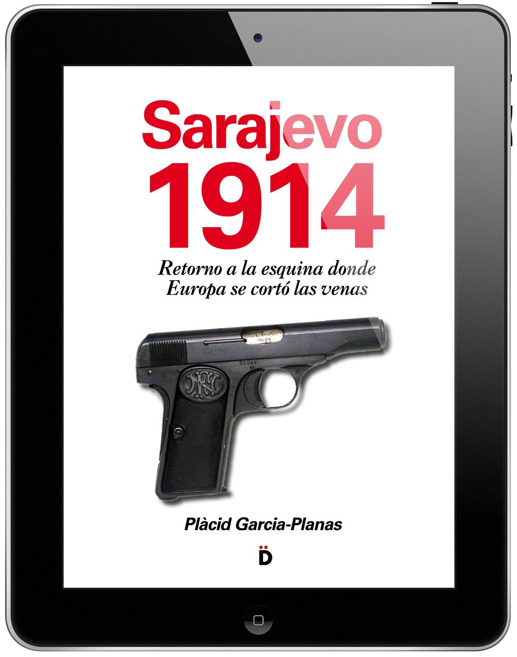 Portada ebook Sarajevo 1914