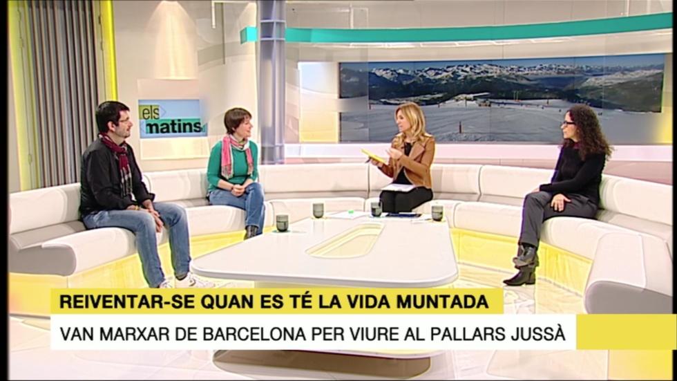 Ana Basanta En Els Matins De TV3