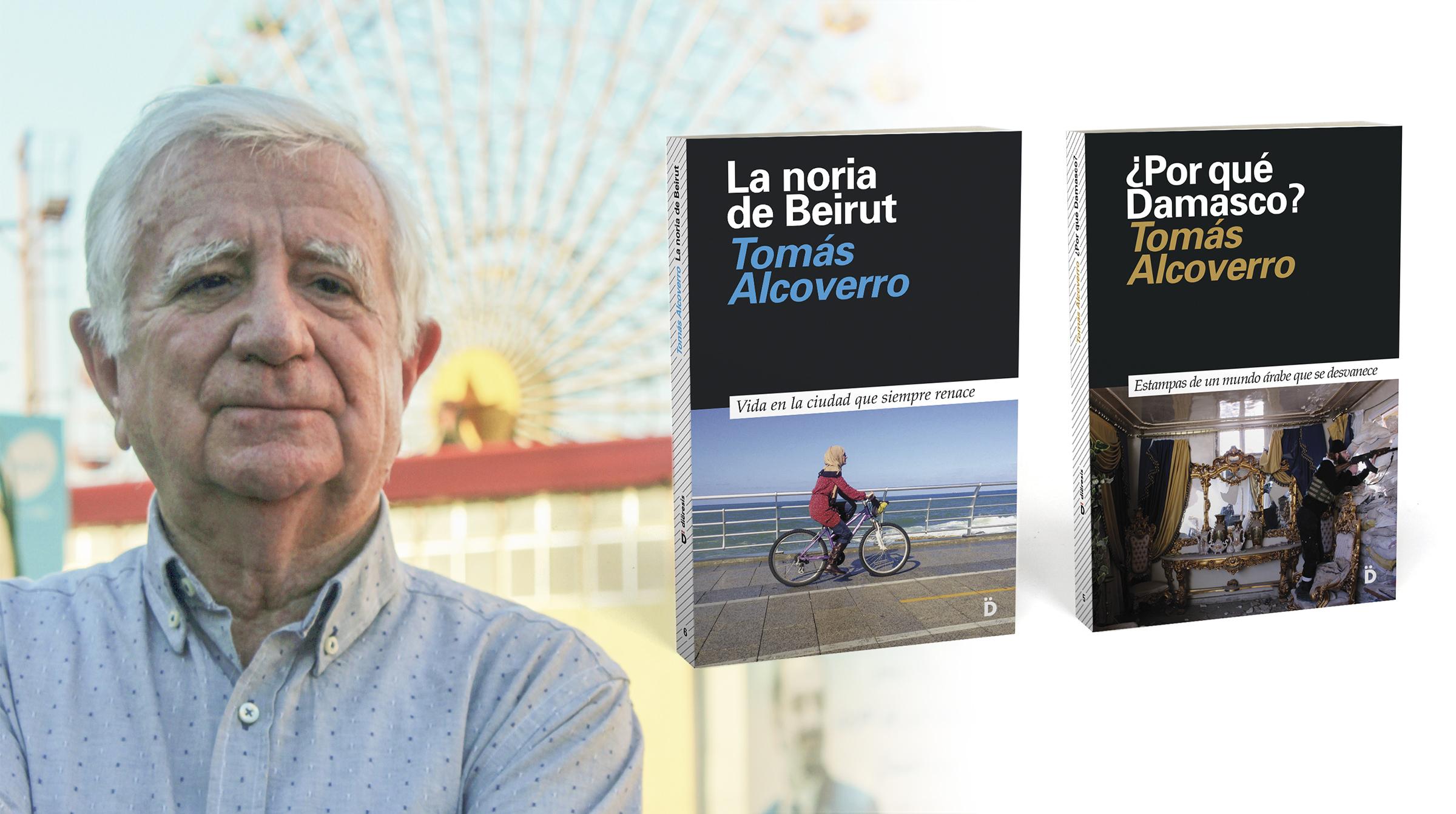 Tomás Alcoverro firmará en Sant Jordi en Barcelona