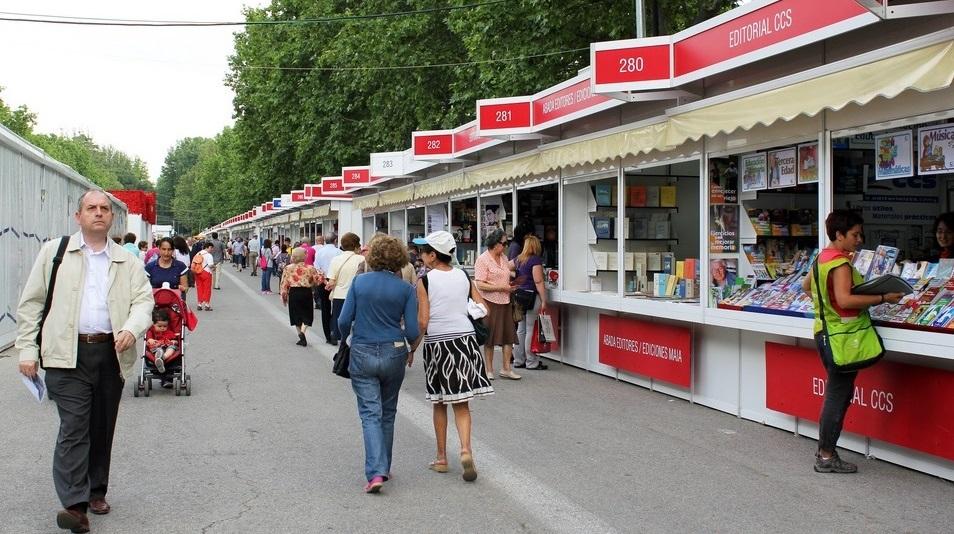 Te esperamos en la Feria del Libro de Madrid