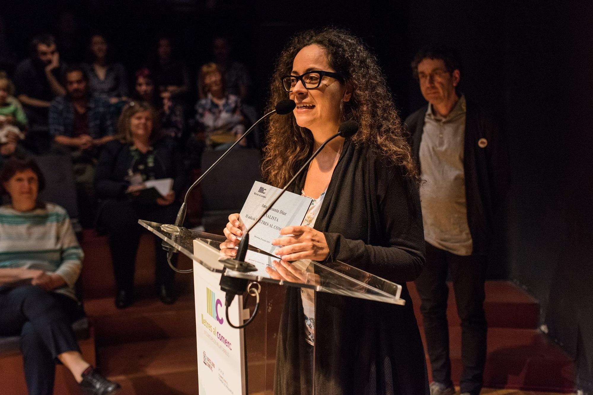 Ana Basanta, finalista del premio Lletres al Comerç
