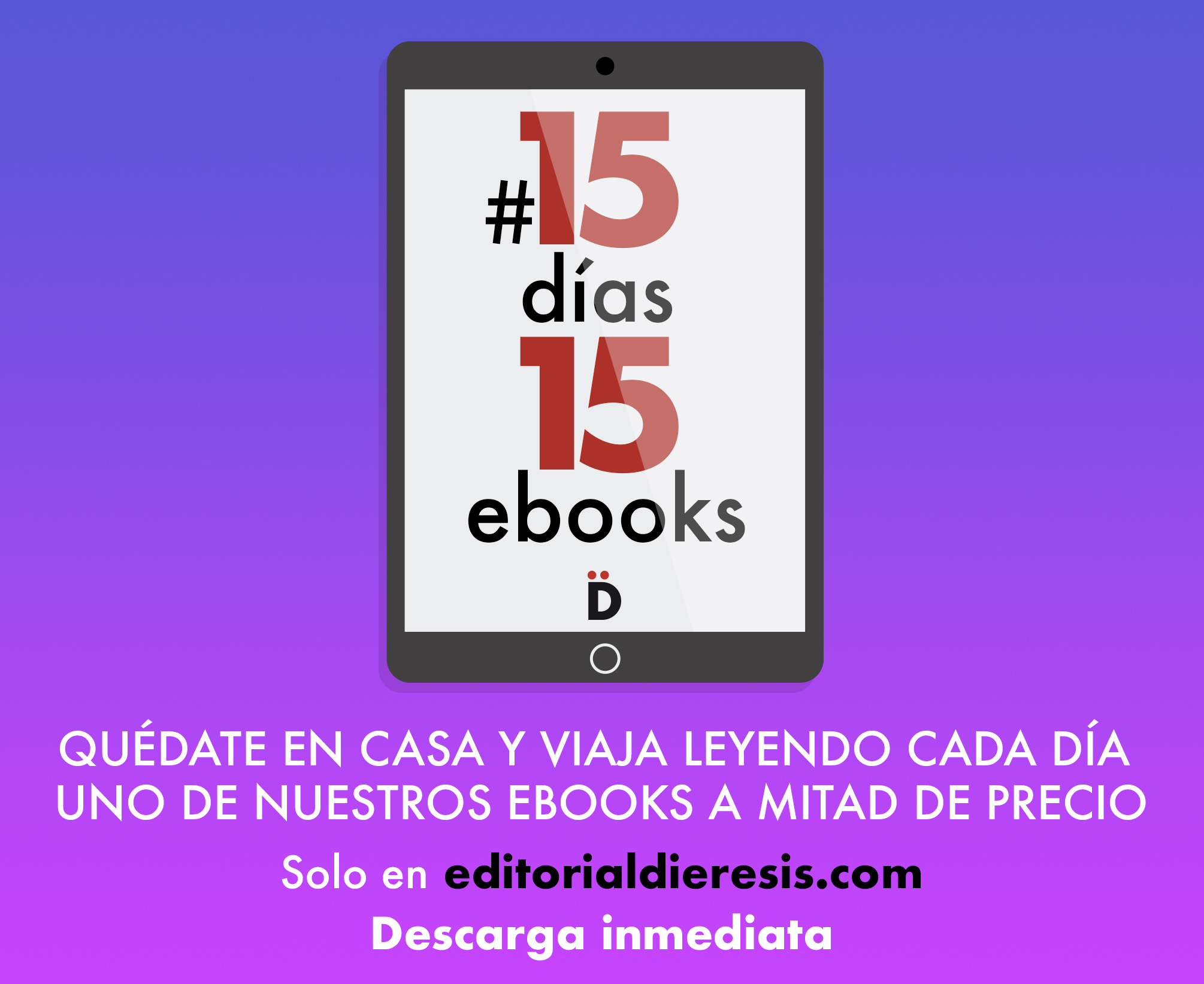 #15días15ebooks: siete días más de grandes lecturas