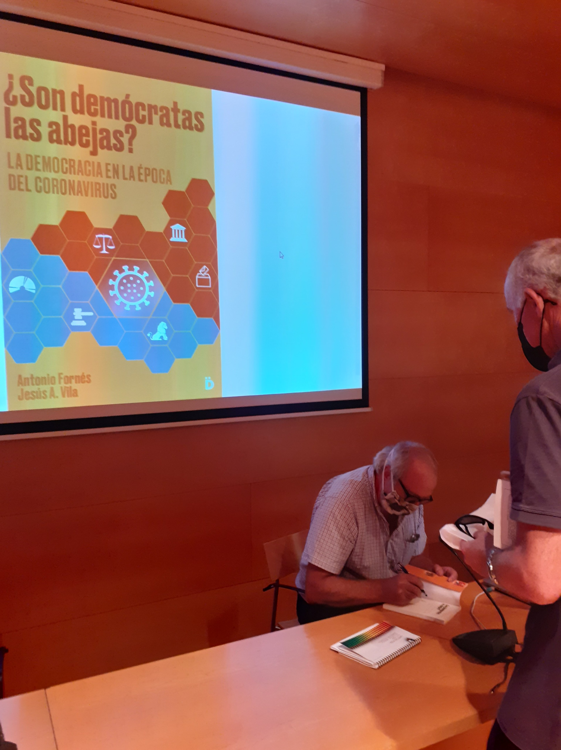 Sed de cultura en el primer evento literario tras el confinamiento