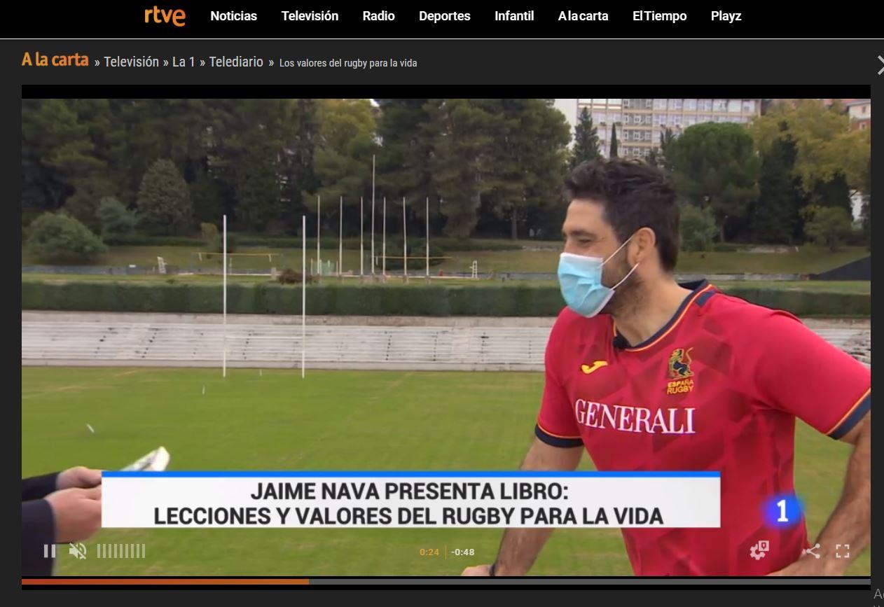 Jaime Nava en el Telediario con TEAM!