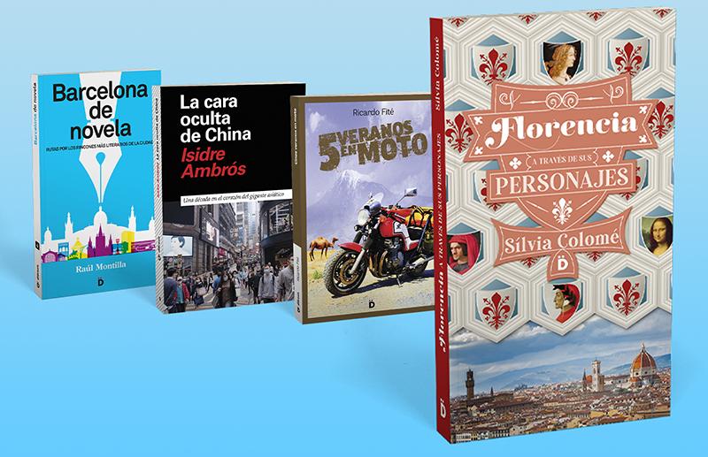 ESTE AÑO… ¡VUELVE A LLEVARTE TUS LIBROS DE VIAJE!